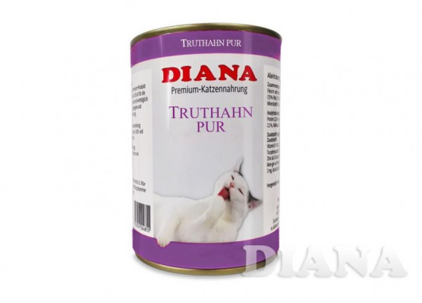 DIANA Cat Truthahn Pur Dosenfleisch