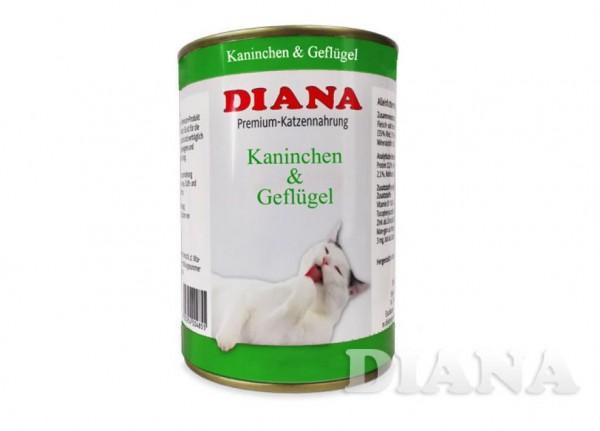 DIANA Cat Kaninchen-Geflügel Dosenfleisch